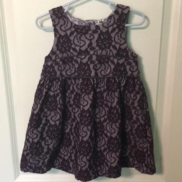Cherokee Other - Cherokee 3t purple lace fancy holiday dress